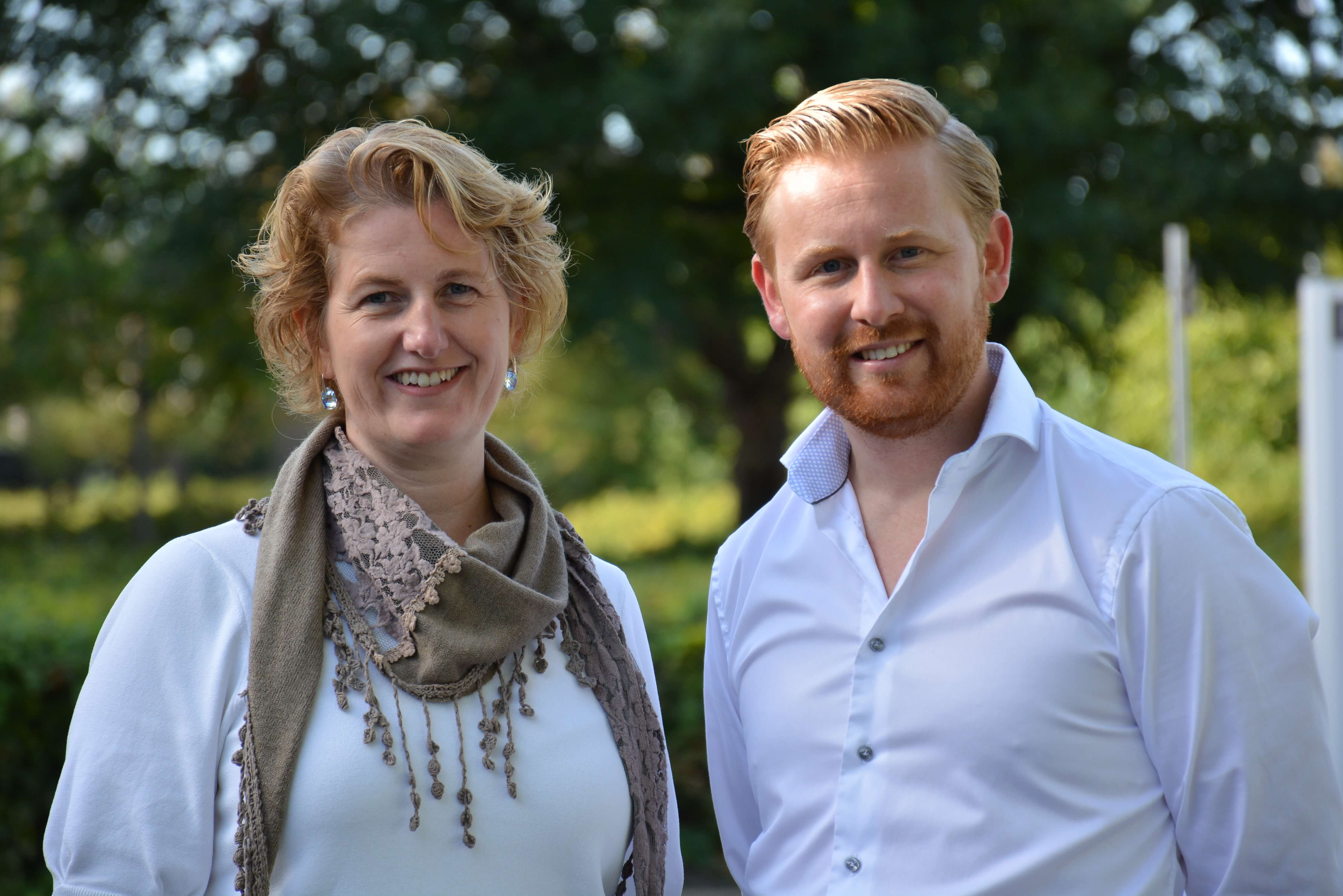 Evelien Swiers en Jeroen Nieuwenhof
