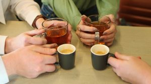 Koffie/thee momentje Harmotion